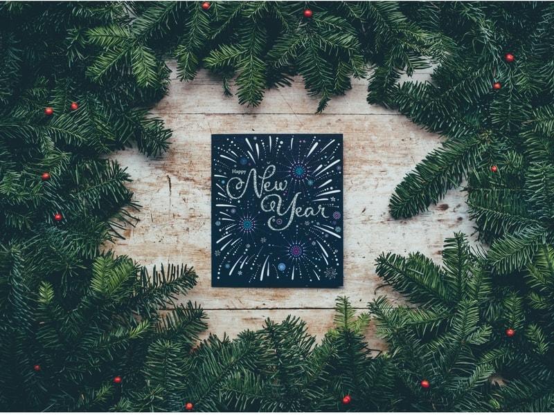 Mollie składa życzenia na nowy rok