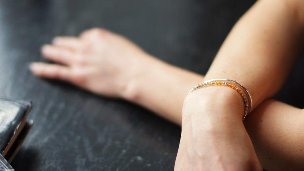 Mollie to biżuteria ręcznie robiona - srebrna i pozłacana